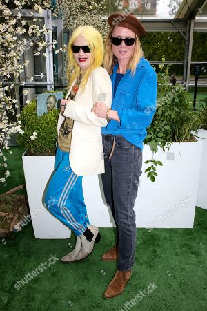 Stock Picture of Pam Hogg and Roisin Murphy