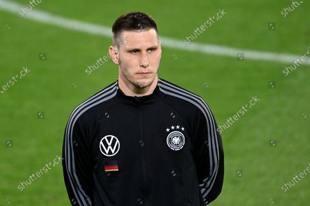 Germany's Niklas Sule before the international friendly soccer match between Germany and Denmark at the Tivoli Stadion Tirol in Innsbruck, Austria