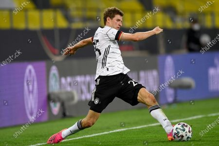 Germany's Thomas Muller during the international friendly soccer match between Germany and Denmark at the Tivoli Stadion Tirol in Innsbruck, Austria