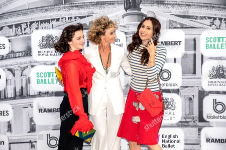 Minnie Driver with Jo Manoukia attends the event organised by Dame Darcey Bussell the first ever British Ballet Charity Gala