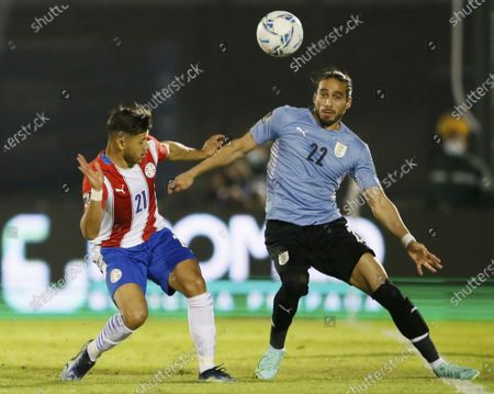 Editorial photo of Paraguay WCup Soccer, Montevideo, Uruguay - 03 Jun 2021