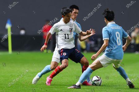 Editorial picture of Soccer : Japan 3-0 U-24 Japan, Sapporo, Japan - 03 Jun 2021