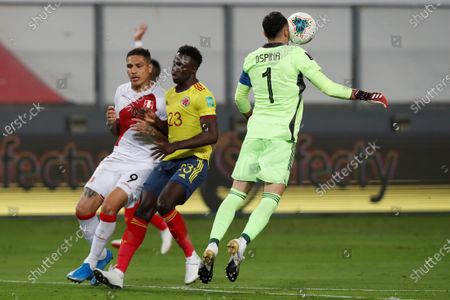 Editorial image of Colombia vs. Peru, Lima - 03 Jun 2021