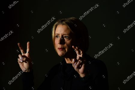 Shadow Minister for Home Affairs Kristina Keneally speaks at a press conference at Parliament House in Canberra, Australia, 04 June 2021.