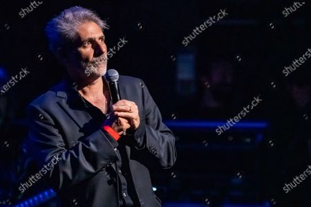 Stock Picture of Michael Imperioli appears onstage at the fifth annual Love Rocks NYC concert to benefit God's Love We Deliver at the Beacon Theatre, in New York