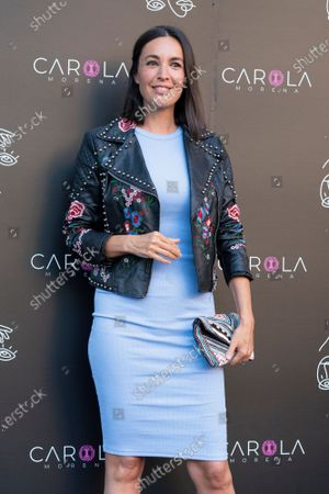 Maria Jose Besora at photocall for presentation Gold Music Club in Principe Pio theater