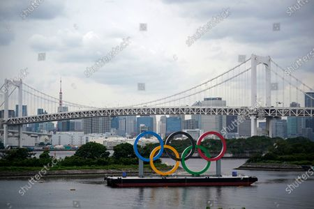 Editorial photo of Tokyo Olympics reception for overseas officials cancelled amid coronavirus woes, Japan - 03 Jun 2021