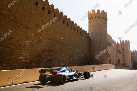 31 Esteban Ocon (fra), Alpine F1 A521, action