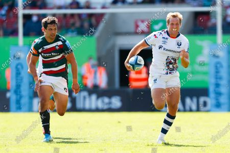 Editorial image of Leicester Tigers v Bristol Bears, Gallagher Premiership, Rugby, Leicester, UK - 05 Jun 2021