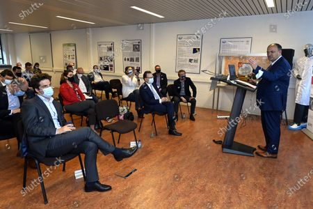Editorial image of Liege Space Center Ministers Visit, Angleur, Belgium - 04 Jun 2021