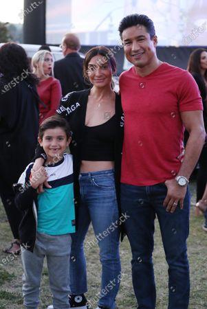 Mario Lopez, wife Courtney Mazza and son Dominic Drive-In to Erase MS, Show, Los Angeles, California, USA - 04 Jun 2021  Pasadena, California   Photo © Matt Baron/REX/Shutterstock