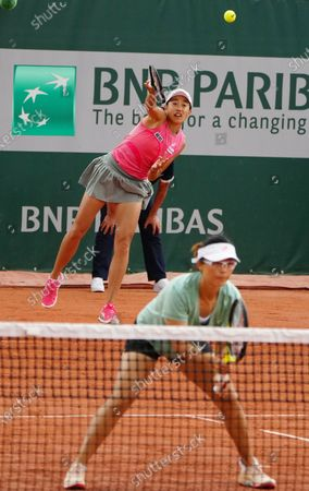 Editorial photo of France Paris Tennis Roland Garros French Open Women's Doubles - 04 Jun 2021