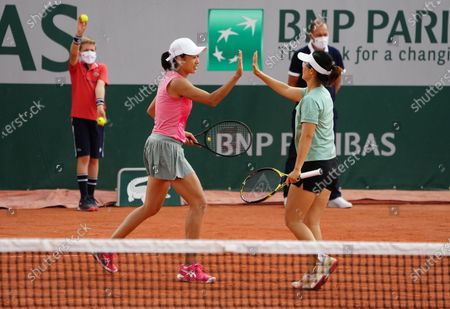 Editorial picture of France Paris Tennis Roland Garros French Open Women's Doubles - 04 Jun 2021