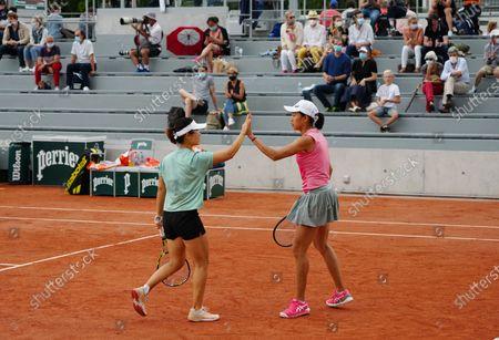 Editorial image of France Paris Tennis Roland Garros French Open Women's Doubles - 04 Jun 2021