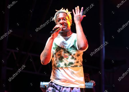 Stock Picture of Mykki Blanco attends OutLoud: Raising Voices Featuring Pride Live's Stonewall Day, Show, Day 2, Los Angeles, California, USA - 05 Jun 2021