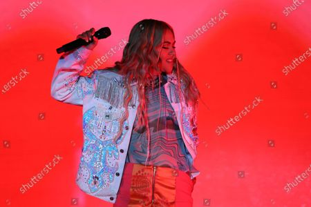 Stock Picture of Hayley Kiyoko attends OutLoud: Raising Voices Featuring Pride Live's Stonewall Day, Show, Day 2, Los Angeles, California, USA - 05 Jun 2021