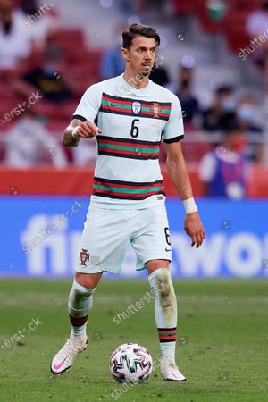 Jose Fonte (LOSC Lille) of Portugal in action during the international friendly match between Spain and Portugal at Estadio Wanda Metropolitano on June 4, 2021 in Madrid, Spain.