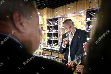 Editorial image of Edouard Philippe visit to Tours, France - 04 Jun 2021