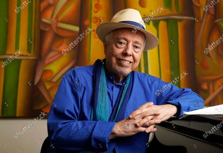 Editorial photo of Sergio Mendes Portrait Session, Los Angeles, United States - 18 May 2021