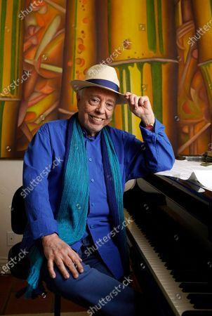 Editorial image of Sergio Mendes Portrait Session, Los Angeles, United States - 18 May 2021