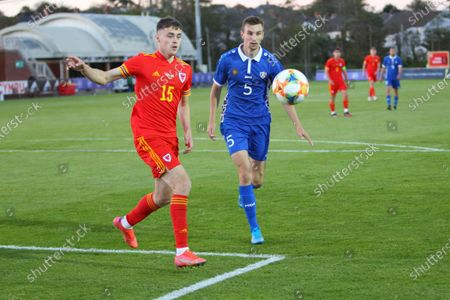 Lewis Collins Wales 15 and Dinis Leseanu Moldova 5