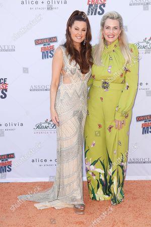 Hilary Roberts and Nancy Davis