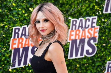 Fashion designer Stacey Bendet arrives at the Race to Erase MS drive-in event at the Rose Bowl, in Pasadena, Calif