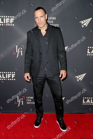 Marko Zaror at the Photo call for The Green Ghost
