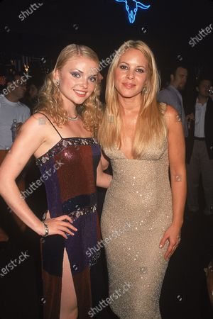 Stock Picture of (L-R) Actresses Isabella Miko and Maria Bello at film premiere of their Coyote Ugly.