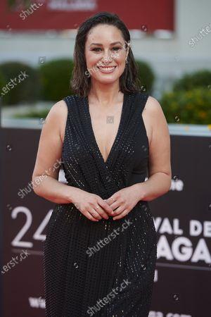 Aida Folch attends the Day 2, 24th Malaga Film Festival Red Carpet at Miramar Hotel in Malaga, Spain