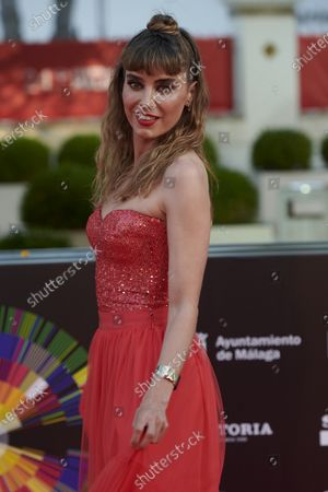 Irene Arcos attends the Day 2, 24th Malaga Film Festival Red Carpet at Miramar Hotel in Malaga, Spain