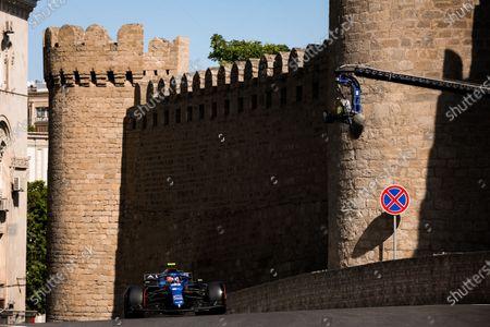Stock Photo of 31 Esteban Ocon (fra), Alpine F1 A521, action