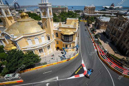 Editorial picture of F1 Azerbaijan Grand Prix, Race, Baku, Azerbaijan - 05 Jun 2021