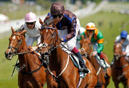 PARENT'S PRAYER (Oisin Murphy) wins The Princess Elizabeth Stakes Epsom