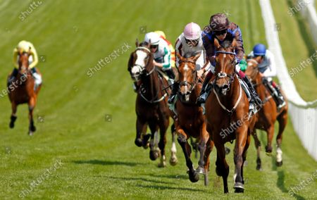 Stock Image of PARENT'S PRAYER (Oisin Murphy) wins The Princess Elizabeth Stakes Epsom