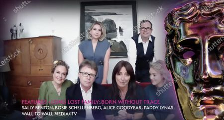 Features - Long Lost Family: Born Without Trace - Sally Benton, Rosie Schellenberg, Alice Goodyear, Paddy Lynas, Nicky Campbell and Davina McCall