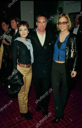 UNITED STATES - (l-r) Natasha Wagner, Tommy  Hilfiger, Katie Wagner, circa 1995.