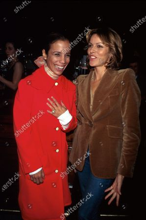 (L-R) Actresses Mel Gorham and Tahnee Welch.