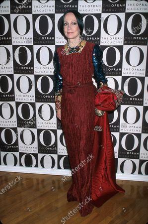 Fashion designer Mary McFadden.
