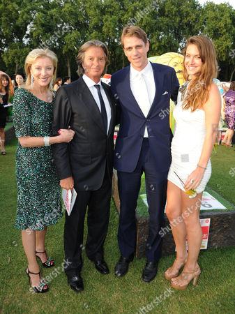 Jackie Caring, Richard Caring, Ben Elliot and Mary-Clare Winwood