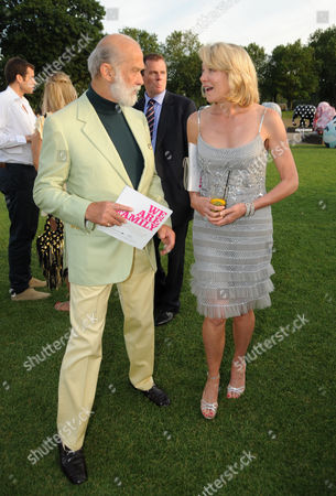 Prince Michael of Kent and Lynn Forester de Rothschild