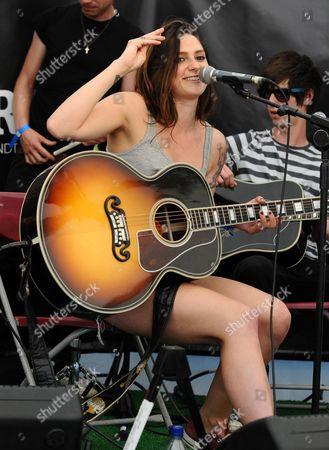 Editorial image of Glastonbury Festival, Somerset, Britain - 26 Jun 2010