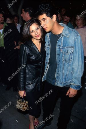 Actor James Duval and date.