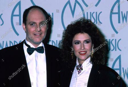 (L-R) Bill Vera and singer Melissa Manchester.