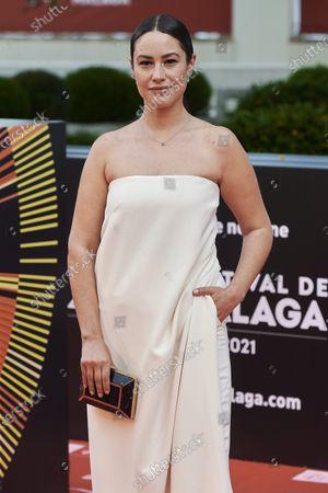 Aida Folch attends the Day 3, 24th Malaga Film Festival Red Carpet at Miramar Hotel in Malaga, Spain, on June 5, 2021.
