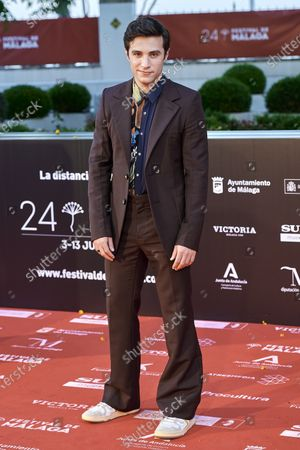 Stock Picture of Pol Monen attends the Day 3, 24th Malaga Film Festival Red Carpet at Miramar Hotel in Malaga, Spain, on June 5, 2021.