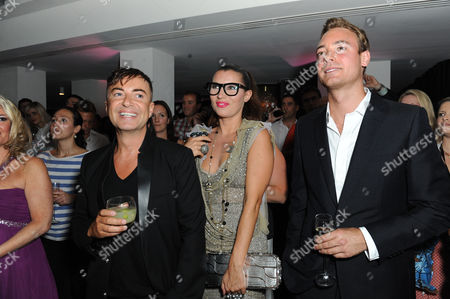 Julien Macdonald, Charley Speed and Grace Woodward