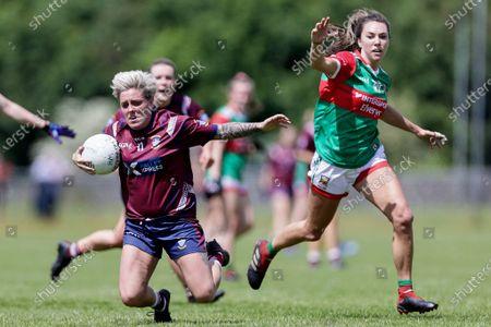 Editorial photo of LIDL Ladies National Football League Division 1, St. Loman's Park, Mullingar, Westmeath - 06 Jun 2021
