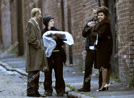 Jessie Wallace  as Pat Phoenix and David Dawson as Tony Warren.