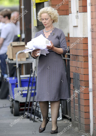 Editorial photo of Filming of BBC 4 Docu-Drama Florizel Street, Bolton, Britain  - 28 Jun 2010